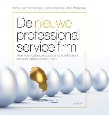 cover de nieuwe professional service firm businessmodel