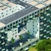 Bijzonder apartementgebouw, Amsterdam wijk Geuzenveld, Dr.H omgev Colijnstraat