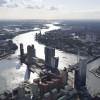 Rotterdam, Nieuwe Maas, ZH, opn 20-08-2014,