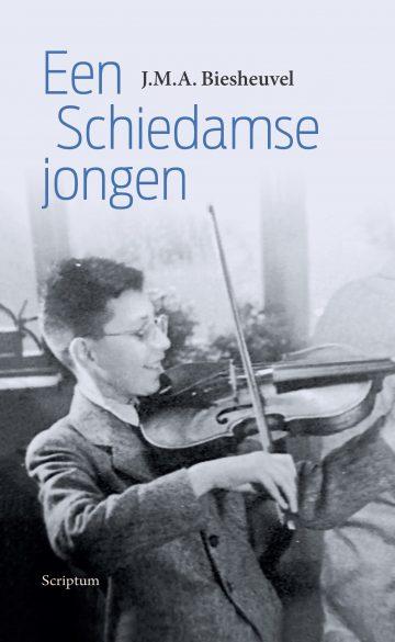 cover Een Schieddamse jongen, Maarten Biesheuvel
